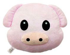 Pig Emoji Pillow - Cute