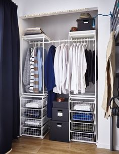 Ιδέες για Βοηθητικούς Χώρους | IKEA Ελλάδα Ikea, Error Page, Closet Ideas, Home Decor, Interior Design, Home Interior Design, Home Decoration, Decoration Home, Interior Decorating