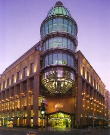 Dusseldorf, Germany - The Schadow Arcades Shopping Center (a mall)