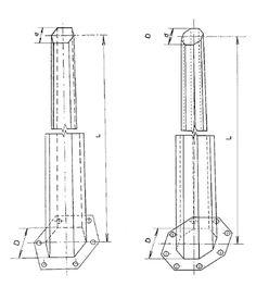 Image result for octagonal poles