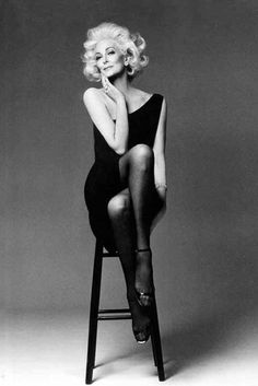 Carmen Dell'Orefice-80+ years and still modeling...wow! What an inspiration!