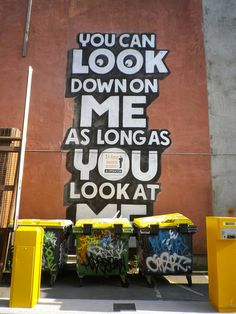 Looking down on the trash  Francis street, dublin #graffiti #art
