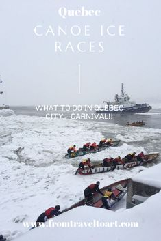 Visiting Quebec City in the winter for Carnival is an exhilarating experience. One that will not disappoint! Canada Travel, Us Travel, Family Travel, Quebec City, Travel Guides, Adventure Travel, Travel Inspiration, Traveling By Yourself, Travel Destinations
