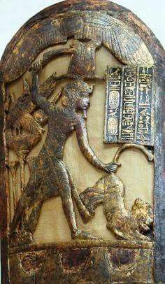 From the Tomb of Tutankhamun.