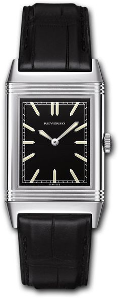 Jaeger LeCoultre Watch Reverso Grande Ultra Thin #bezel-fixed #bracelet-strap-alligator #brand-jaeger-lecoultre #buckle-type-tang-type-buckle #case-depth-7-2mm #case-material-steel #case-width-27-5-x-46mm #delivery-timescale-4-7-days #dial-colour-black #gender-mens #luxury #movement-manual #official-stockist-for-jaeger-lecoultre-watches #packaging-jaeger-lecoultre-watch-packaging #subcat-reverso #supplier-model-no-q2788570 #warranty-jaeger-lecoultre-official-2-year-guarantee ...