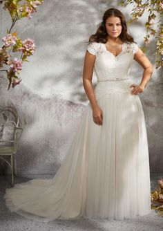 Courtesy of Morilee by Madeline Gardner Julietta Collection of plus size wedding dresses