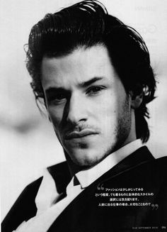 French actor Gaspard Ulliel has been cast to play a young Yves Saint Laurent in an upcoming biopic covering the late designers early career. Directed by Bertrand Bonello, the French-language film shooting is due to start in spring Gaspard Ulliel, Hannibal Rising, Cinema, You're Hot, Portraits, Cover Model, Attractive People, Hollywood Actor, Male Face