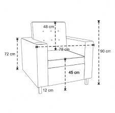 Standard Sofa Dimensions In Meters - New Blog Wallpapers #SillonesTapizados
