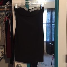 Black mini dress Great LBD. Great for clubbing and formals! Forever 21 Dresses Mini