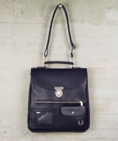 Fred Perry - Tall Saddle Bag - so want this