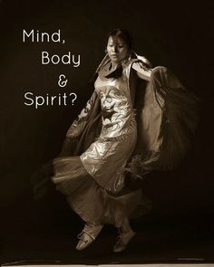 Expressed in dance..