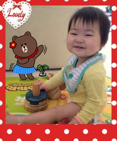 Cute 1 yr old with Puzzle Stackers - Mini Puzzle, Mini, Face, Puzzles, Riddles, Faces, Facial, Quizes