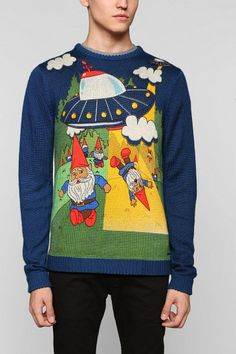 toddland Gnome Place Like Home Sweater - Urban Outfitters