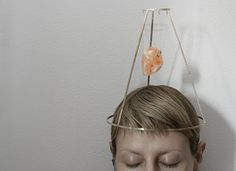 """""""Fear"""" by Monica Stanescu - Contemporary jewelry application for Taboo Exhibition 2014 Event Organization, Art Gallery, Hoop Earrings, Contemporary, Jewelry, Art Museum, Jewlery, Fine Art Gallery, Jewels"""