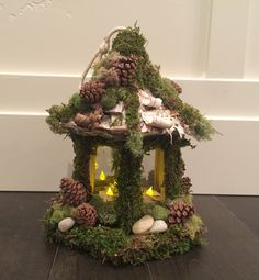 Enchanted Forest, Tinkerbell Centerpiece,Cake Topper, wedding, party,yard Decor, lighted, home decor, Fairy House, woodland party, garden by Rusticredoo on Etsy https://www.etsy.com/listing/489154036/enchanted-forest-tinkerbell
