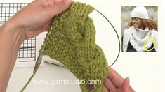 Diy Crafts - In this DROPS video we show you how to knit the Winter Cozy shawl with cable edge in DROPS This shawl is knitted in DROPS Cloud, Knitting Videos, Knitting Stitches, Free Knitting, Knitting Patterns, Crochet Mug Cozy, Knit Crochet, Crochet Hats, Crochet Hooded Scarf, Diy Mode