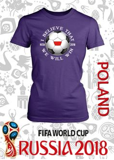 FIFA World Cup Polska Poland National Team Soccer I Believe That We Will  Win in 85ed49af2