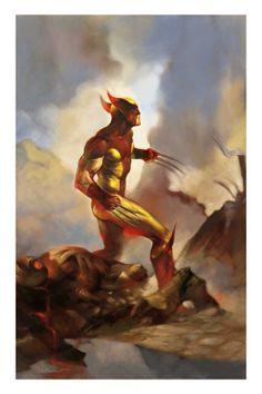 Wolverine by Josep Baixauli