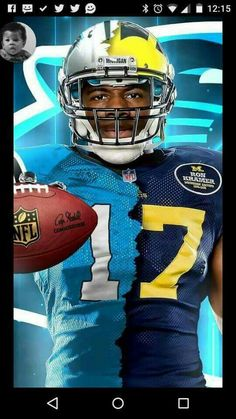 GO BLUE! we all over the NFL.