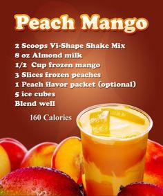 Peach Mango Shake