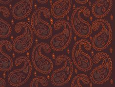 Hojas #paisley #pattern #colorful