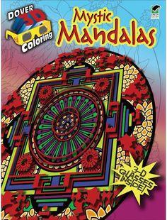 Mystic Mandalas Coloring Book 3D
