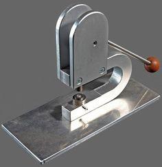 Rivet press, spindelpers, snap- rivet setter, leather grommet press. Press Die Hole Punch