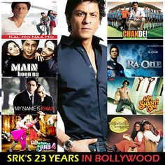 An actor who defines Stardom; 23 Golden Years Of SRK! 