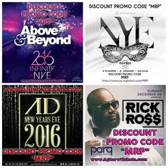 """Discount tickets for NYE in San Diego with PROMO CODE """"MRP"""". (See www.MRP.club or www.MarkRondeauPresents.com for links to tickets/info!) [#SanDiego#SD#ADNightclub #SDNYE#EDM#INFINITY2016#SixOneNine #Gaslamp#EDMSD#MarkRondeauPresents #ADAngels#ParqSD#DTSD#HRSD#Parq#UCSD #HardRockSD#SDGoGo#SDClubbing#MesaCollege#USD#SDSU#SDDJ#LaJolla#ComePlay#SDLiving #SDCC#GaslampSD#SDNightlife#ADNYE]"""