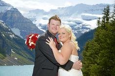 Peak Photography: Lake Louise Wedding Photographer - Cynthia & Cory