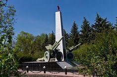 Обелиск Славы.  п.Усть-Кинельский