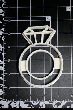 Diamond Cookie Cutter by Geek2Geek on Etsy, $8.00