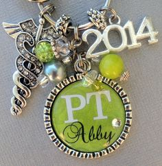 PERSONALIZED, Necklace, Physical Therapy Gift, PTA, Pt, Initial ...
