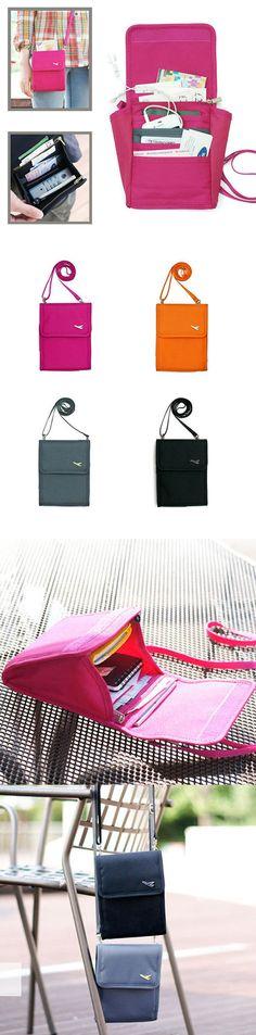 Nylon Card Holder Passport Bag Stylish High-end Phone Bag Mini Crossbody Bag