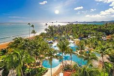The Rio Mar Beach Resort & Spa was an excellent choice for us while staying in Puerto Rico.