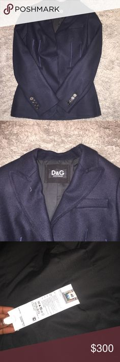 Dolce and Gabbana Blazer Wool Blazer. Great for the Winter. Great Condition. Dolce & Gabbana Jackets & Coats Blazers