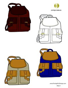 illustrator fashion templates free_backpack