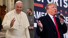"Inserting himself into the Republican presidential race, Pope Francis on Wednesday suggested that Donald J. Trump ""is not Christian"" because of the harshne"