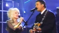 I'll love you forever. Together we'll stand. You're my kind of woman. You're my kind of man. Female Country Songs, Country Singers, Dolly Parton Duets, Celebrities With Cats, Blues Music, Pop Music, Vince Gill, Entertainer Of The Year, Country Music Lyrics