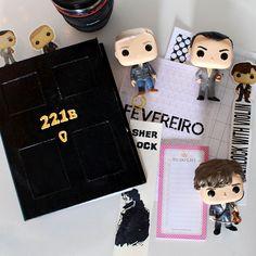 O meu primeiro Planner do Sherlock - Sai da Minha Lente