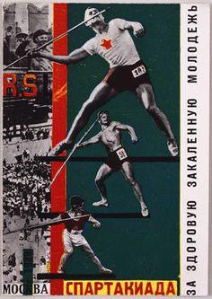 Spartakiada poster - Gustav Klutsis 1928