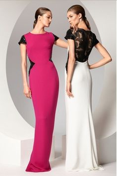 """The Escada """"Gorinn"""" Evening Gown from the Spring 2013 Collection, as seen in…"""