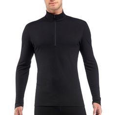 Icebreaker Male Bodyfit 200 Oasis Half-Zip Long Underwear Top - Men's