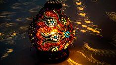Gift d& Anniversary gift, anniversary gift, regalo de aniversario Turkish Gourd lamp shining gourd bohemian moroccan shadow Turkish Lights, Turkish Lamps, Moroccan Lamp, Moroccan Lighting, Turkish Art, Istanbul, Bohemian Lamp, Boho, Wood Burning Techniques