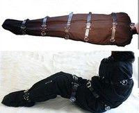 Quality Gimp Strict Bondage Straight Jacket Sleep Sacks Straitjacket Mumification Restraint Set Over