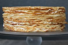 Crepes terrify me, but I'm slowly gathering the courage to try and make a few. This would be such a magical birthday cake.