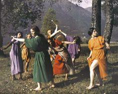 """""""The School for Art"""", Rudolf von Laban #monteverita"""