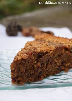 Les délices de Maya: Gâteau du bûcheron Sweet Recipes, Cake Recipes, Dessert Recipes, Pear Cake, Baked Apples, Yummy Cakes, Banana Bread, Food Processor Recipes, Bakery