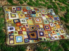 Babette for Rachel. Crochet afghan.