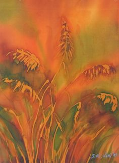 akvarel na svili - s 0107